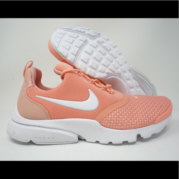 new style 4b361 0a70d Nike Presto Fly SE Womens Running Shoes Crimson NWT